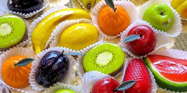 Frutta Martorana марципановые сладости на Сицилии