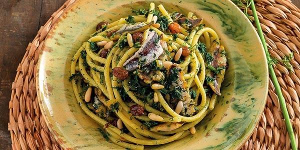 Сицилийская паста с сардинами