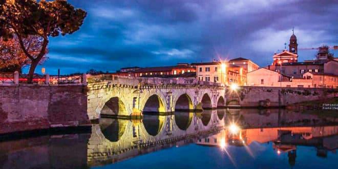 Мост Тиберия в Римини