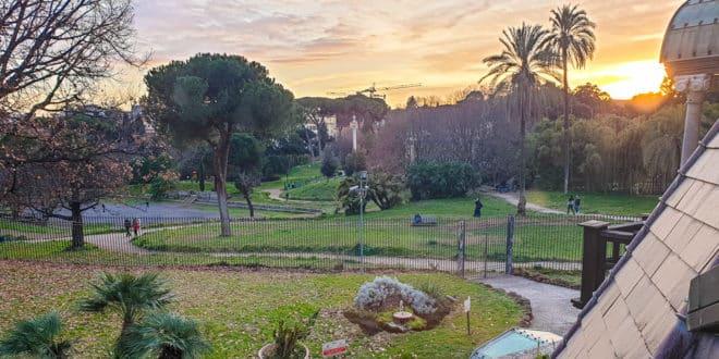 Вилла Торлония в Риме