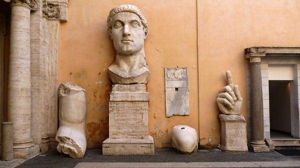 Колосс Константина I Великого в Капитолийских музеях