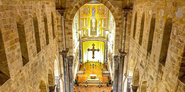 Интерьер кафедрального собора Чефалу