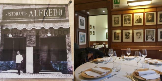 Ресторан в Риме Alfredo alla Scrofa