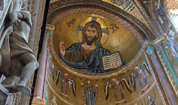 Мозаика в соборе Чефалу