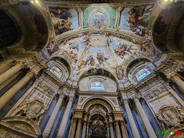 Потолок Кафедральный собор Сиракуз