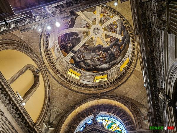 Фрески на куполе Кафедральный собор Сиракуз