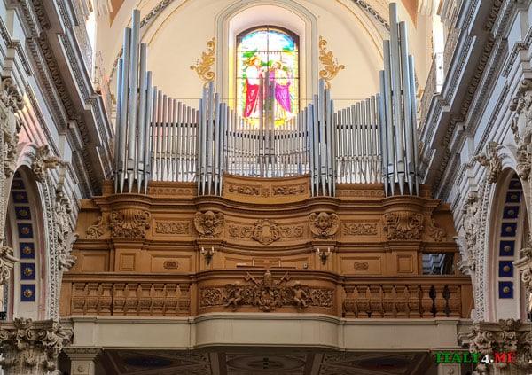 Орган в Дуомо святого Петра Модика, Сицилия