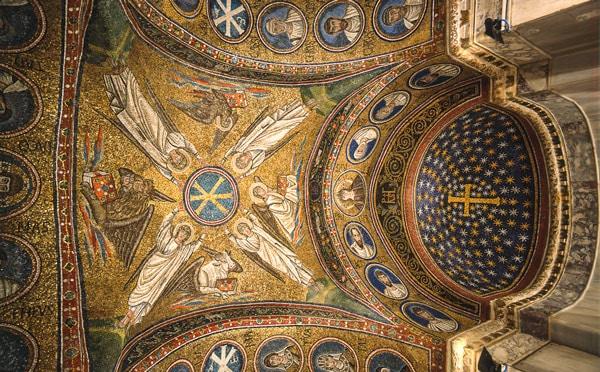 Мозаика в Архиепископской капелле в Равенне