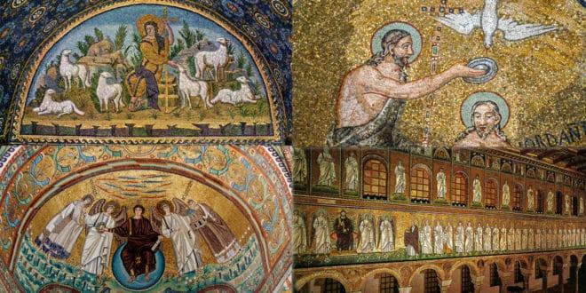 византийские мозаики Равенны
