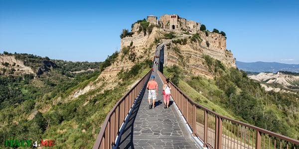 Мост в Чивита ди Баньореджо