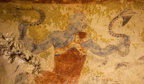 Гробница Синих Демонов в Тарквинии