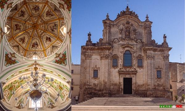 Барочная Церковь Сан-Франческо д'Ассизи в Матере
