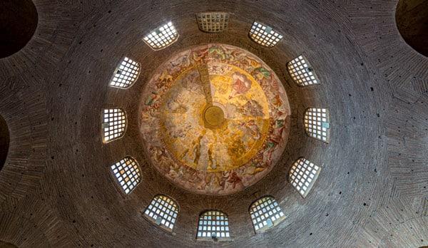 Купол мавзолея Констанции в Риме