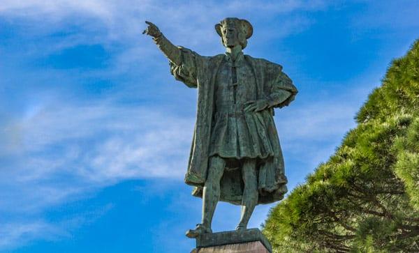 Монумент Христофору Колумбу в Рапалло