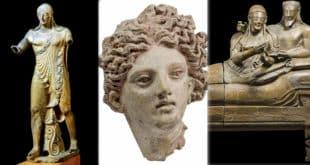 Национальный этрусский музей Вилла Джулия в Риме
