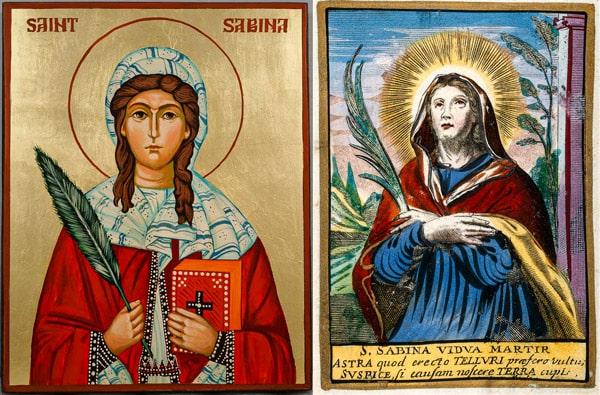 Святая Сабина икона