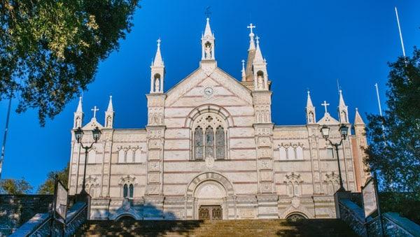 Базилика Святилища Богоматери Монталлегро в Рапалло
