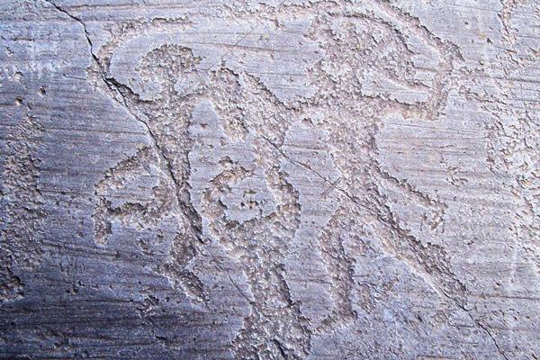 Наскальное искусство медного и бронзового веков