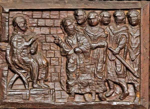 Христос перед Каиафой