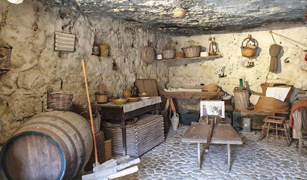 Предметы быта сицилийских крестьян музей в Испике