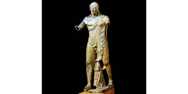 этрусская скульптура Аполлон Вейский