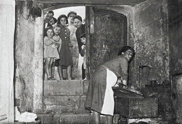 Быт жителей Матеры в XX веке