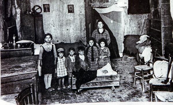 Жители Матеры в середине XX века