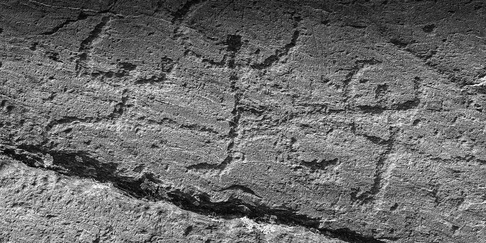 Петроглифы Валь-Камоники изображение людей