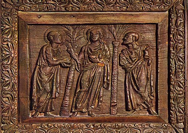 Преломление хлеба Эммаус