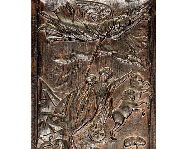 вознесение Илии на небеса в огненной колеснице