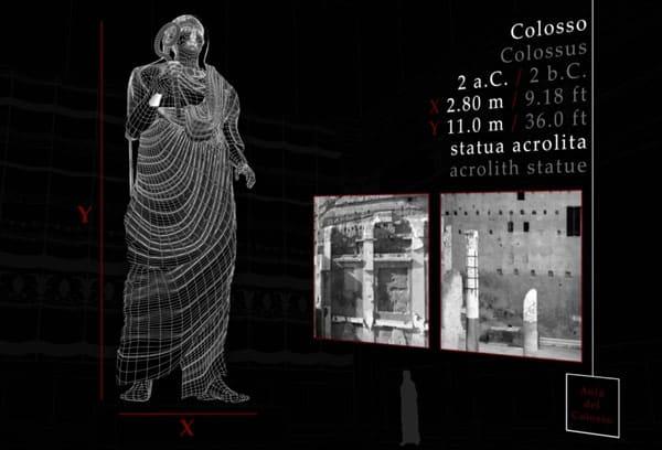 Реконструкция статуи императора Августа