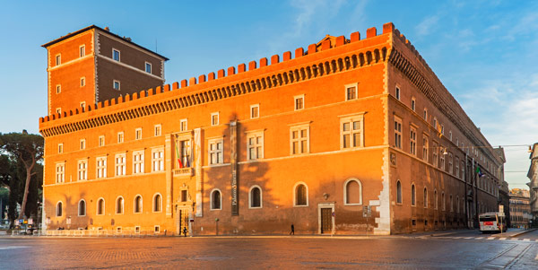 Палаццо Венеция в Риме