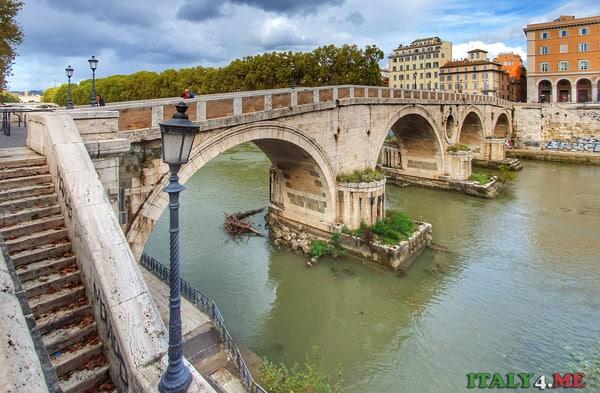 Понте Систо в Риме