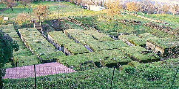 Этрусский некрополь в Орвието