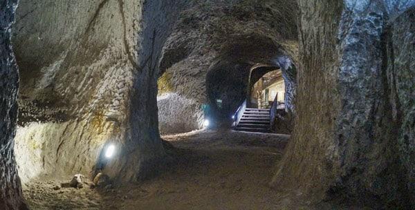 Подземелье Орвието Италия
