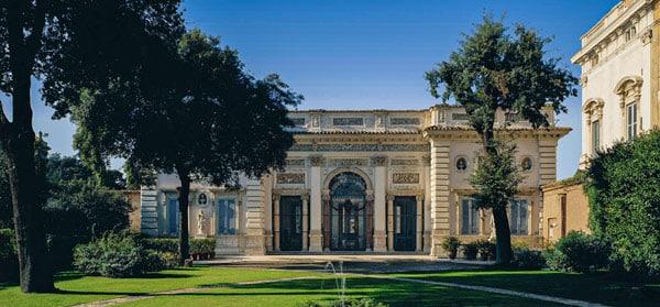 Палаццо Роспильози Паллавичини (Palazzo Pallavicini Rospigliosi) в районе Монти Рим