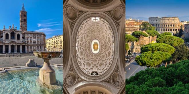 Район Монти в Риме