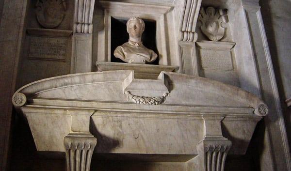 Надгробие Чеккино де Браччи по проекту Микеланджело