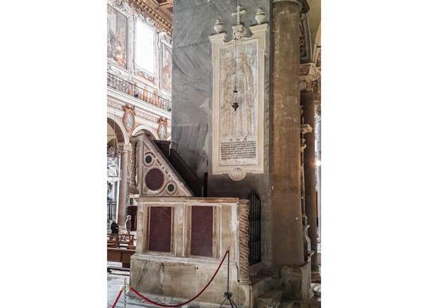 Надгробие Катарины Боснийской в базилике Санта-Мария ин Арачели Рим