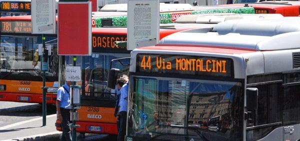 Маршрут римского автобуса