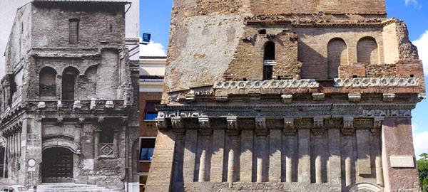 Дом Крещенцы (Casa dei Crescenzi) место рождения Кола ди Риенцо в Риме
