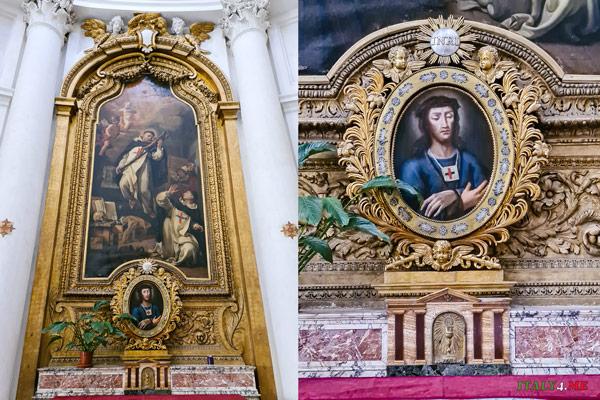 Экстаз святого Иоанна Крестителя Зачатия Просперо Маллерини церковь Сан-Карло-алле-Куатро-Фонтане в Риме