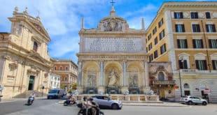 Фонтан Аква Феличе в Риме