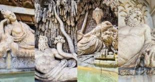 Четыре фонтана в Риме