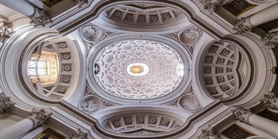 Церковь Сан-Карло-алле-Куатро-Фонтане Рим