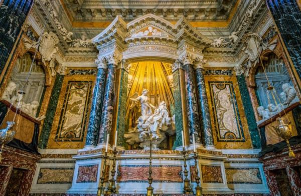 экстаз святой Терезы церковь Санта-Мария-делла-Виттория в Риме